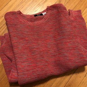 BDG Red Multi Oversized Sweater
